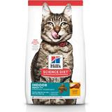 Hill's Science Diet Adult 7+ Indoor Chicken Recipe Dry Cat Food, 3.5-lb bag