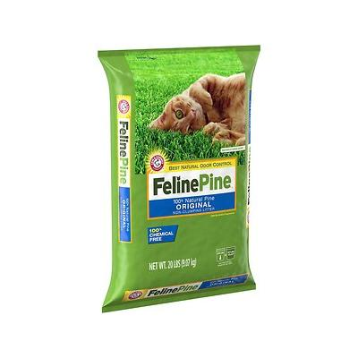 Feline Pine Original Cat Litter, 20-lb bag