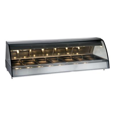 Alto Shaam TY2-96/PL-SS 96 Dual-Service Countertop Heated Display Case - (7) Pan Capacity, 120v/208 240v/1ph on Sale