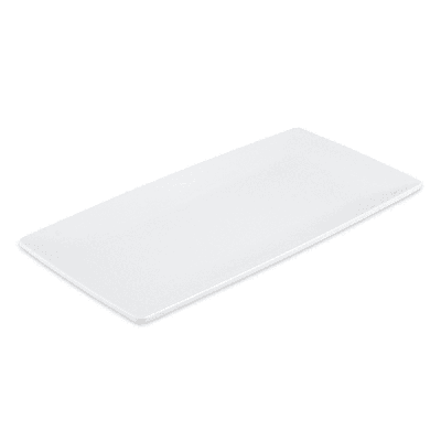 GET ML-287-W Rectangular Display Tray, 15 x 7.5, Melamine, White on Sale