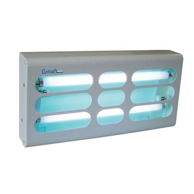 Curtron BL200 Powder-Coated Silent Fly Trap w/ 30 Watt UV Light, Covers 1500 sq ft, White on Sale