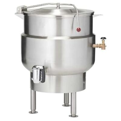 Vulcan K60DL 60-gal. Steam Kettle - Stationary, 2/3 Jacket, Direct Steam on Sale