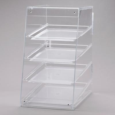 """Cal-Mil 1012 Four Tier U-Build Classic Pastry Display Case - 13 1/2"""" x 21"""" x 24 1/2"""""""