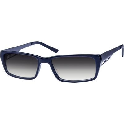 Zenni Men's Sunglasses Blue Frame