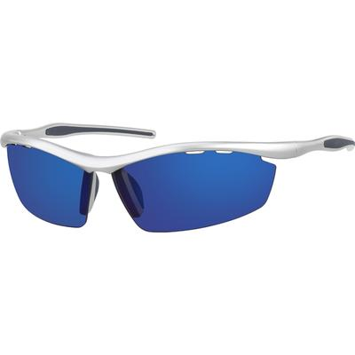 Zenni Men's Sunglasses Silver Pl...