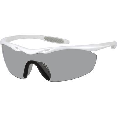Zenni Mens Sunglasses White Frame Other Plastic A10160311