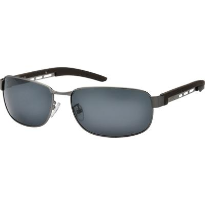Zenni Men's Sunglasses Gray Frame