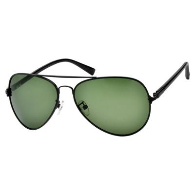 Zenni Mens Aviator Sunglasses Bl...