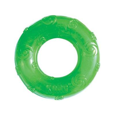 KONG Squeezz Ring Dog Toy, Color Varies, Large
