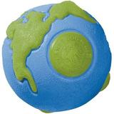 Planet Dog Orbee-Tuff Ball Tough Dog Chew Toy, Blue/Green, Large
