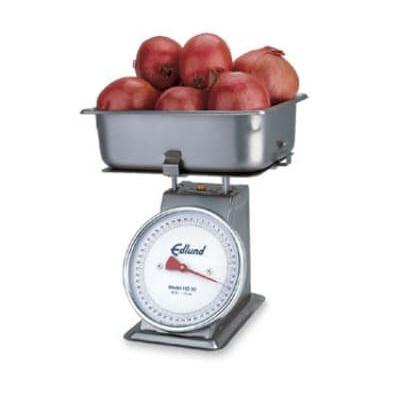 Edlund HD-50 Dial Type Receiving Scale w/ Sloped Face, Top Load, Stainless on Sale
