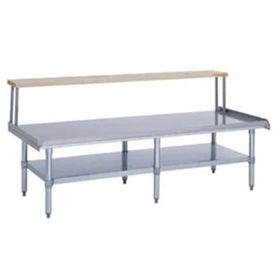 Duke ES-7202A-4830 Open Base Equipment Stand w/ Stainless Top, Undershelf, Legs, 48x30x24.25 on Sale