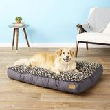 P.L.A.Y. Pet Lifestyle and You Serengeti Pillow Dog Bed, Copper, Large