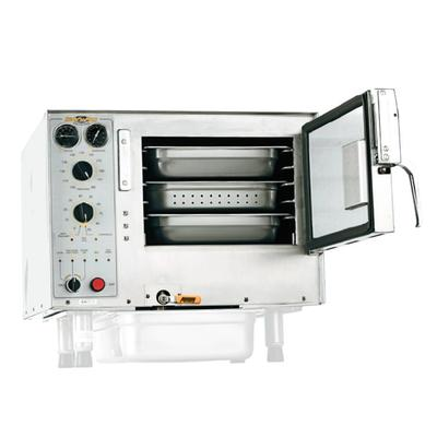 Accutemp S34403D090 (3) Pan Convection Steamer - Countertop, Holding Capability, 440v/3ph on Sale