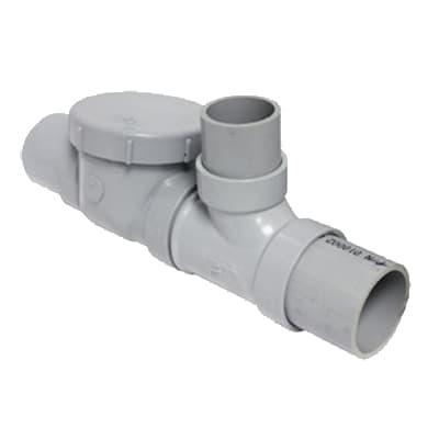 Canplas 3933125AS Spigot Format Flow Control w/ Fittings, Cleanout & Air Intake, 25 GPM, 3 on Sale