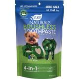 Ark Naturals Brushless Toothpaste Mini Dental Dog Chews, 4-oz bag