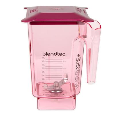 Blendtec WILDSIDERED-H 3 qt WildSide Jar w/ Hard Lid & Wingtip Blade, Ounce & Cup Markings, Red on Sale