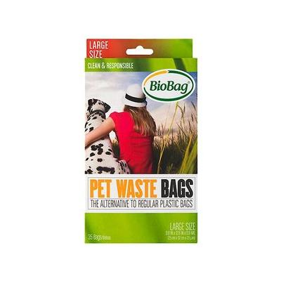 BioBag Large Pet Waste Bags, 35 ...