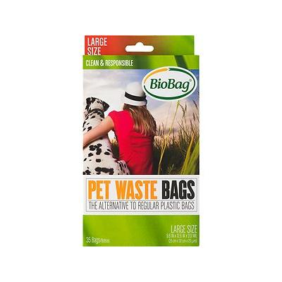 BioBag Large Pet Waste Bags, 35 count