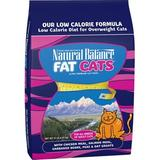 Natural Balance Fat Cats with Chicken Meal, Salmon Meal, Garbanzo Beans, Peas & Oatmeal Dry Cat Food, 15-lb bag