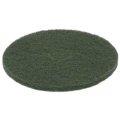 "Scrubble by ACS 55-17 Type 55 17"" Green Scrubbing Floor Pad - 5/Case"