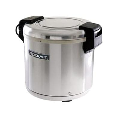 Adcraft RW-E50 Rice Warmer w/ 50 Cup Capacity & Removable Inner Pot, Stainless on Sale