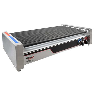 APW HRS-50 50 Hot Dog Roller Grill - Flat Top, 120v on Sale