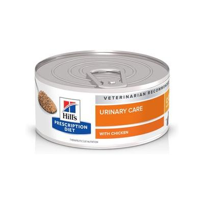 Hill's Prescription Diet c/d Multicare Feline Bladder Health with Chicken Canned Cat Food, 5.5-oz