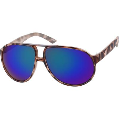 Zenni Mens Sunglasses Tortoisesh...