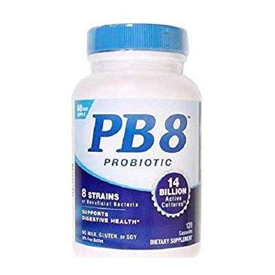 SB: Nutrition Now Immune Support - PB 8 Original Probiotic Supplement - PB 8 Original Probiotic Supplement - 120 Capsules. Supports Digestive Health!PB 8 contains a proprietary blend of beneficial bacteria such as Lactobacillus and Bifidobacterium.PB 8 provides 14 Billion CFUs at the time of manufacture.These statements...