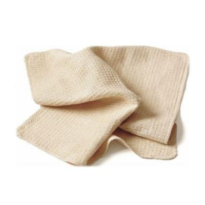 Chef Revival 700WT Natural Waffle Weave Bar Towel, 18 x 18 on Sale