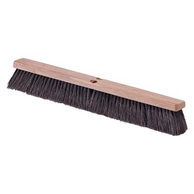 Carlisle 4505403 24 Push Broom Head w/ Tampico Bristles, Black on Sale
