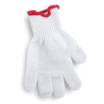 Tablecraft GLOVE1 The ProTector Cut Resistant Glove, X-Small, Red Cuff on Sale