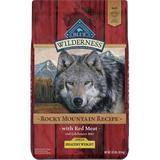 Blue Buffalo Wilderness Rocky Mountain with Red Meat Healthy Weight Grain-Free Dry Dog Food, 22-lb