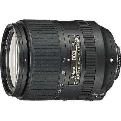 Nikon AF-S DX 18-300mm f/3.5-6.3G ED VR - uses 67mm Filter on Sale