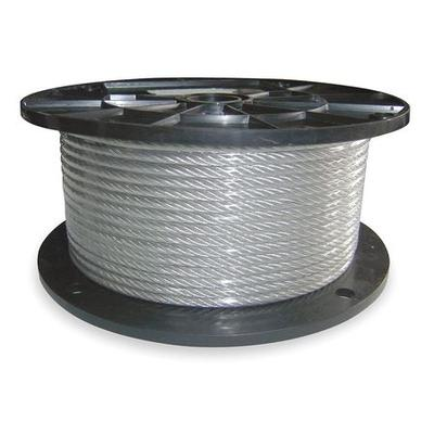 DAYTON 1DLA6 Cable,3/8 IN,150 FT,2880 lb. Capacity