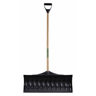 """UNION TOOLS 1628600GR 30"""" Poly Snow Shovel with 42"""" Wood Handle"""