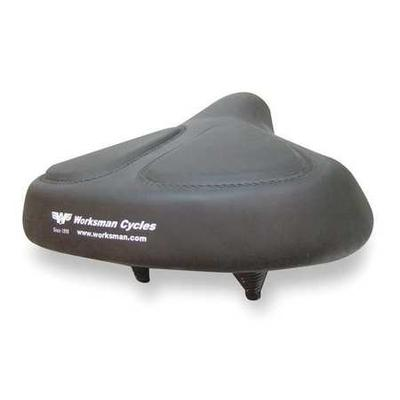 WORKSMAN 6911v Bicycle Seat 13 In. Extra Wide