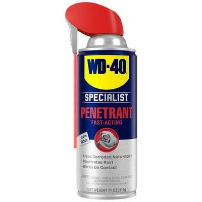 Penetrant, Lubricant NSF Rating Not Rated, Penetrant Base Petroleum, Min. Operating Temp. -50 Degrees F, Max. Operating Temp. 400 Degrees F, Extremely Flammable Aerosol, Lubricant Container Aerosol Can, Container Size 11 oz., Lubricant Color Clear, Net...