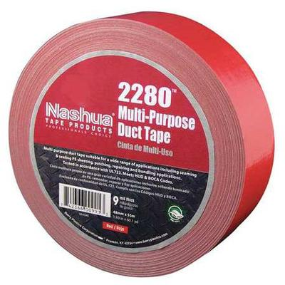 NASHUA 2280 Duct Tape,48mm x 55m,9 mil,Red