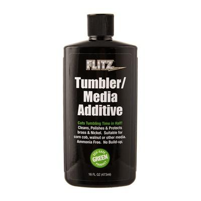 Flitz Tumbler/Media Additive - Tumbler Media Additive 16oz