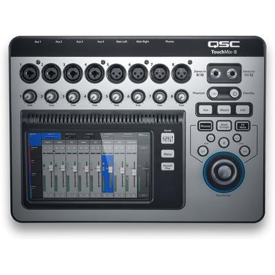 QSC Digital Mixer 8 Channel Touc...