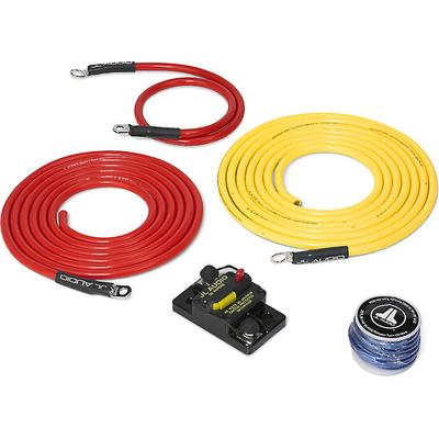 JL Audio Marine Amp Wiring Kit 10ft. with 50A Circuit Breaker