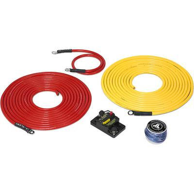 JL Audio Marine Amp Wiring Kit 20ft. with 50A Circuit Breaker