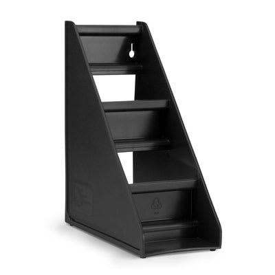 Vollrath 4830-06 3 Tier Self-Serve System Stand - Black on Sale