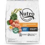 Nutro Natural Choice Large Breed Adult Chicken, Whole Brown Rice & Oatmeal Recipe Dry Dog Food, 30lb