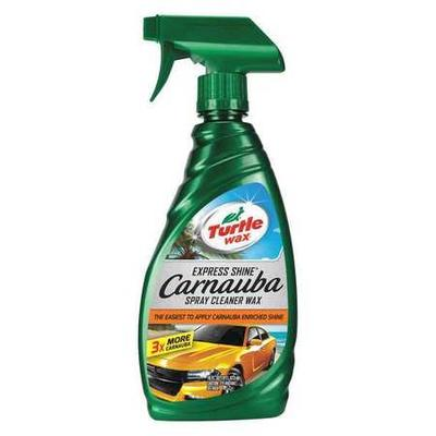 Car Wax, Spray, 16 Oz, Bottle, Clear, Wet, pH 5, Removes Waterspots, For Use With Diaper Soft Cloths