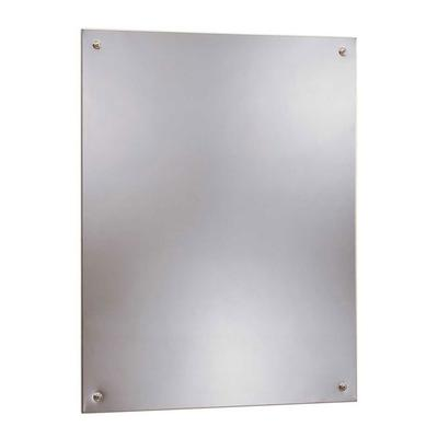 Bobrick B15561830 B-1556 Series Frameless Stainless Steel Mirror, 18 X 30 on Sale