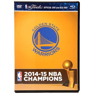 """Golden State Warriors 2015 NBA Finals Champions Blu-Ray DVD Combo Pack"""