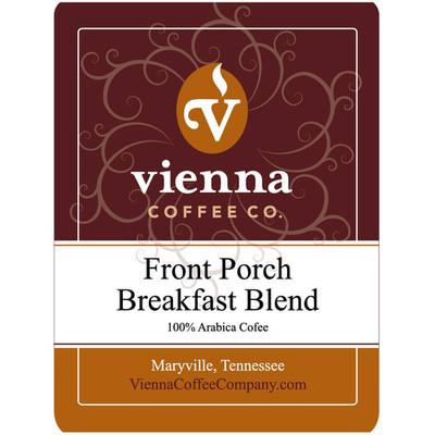 Vienna Coffee WFPBBG-12 12 oz Ground Coffee, Front Porch Breakfast Blend